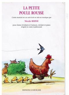 couv petite poule rouuse